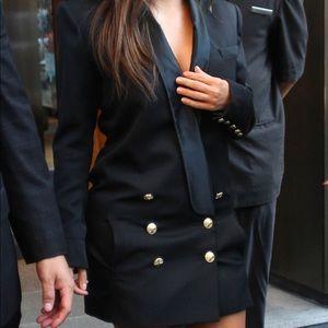 Balmain x H&M blazer dress